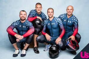 Team USA Bobsledders