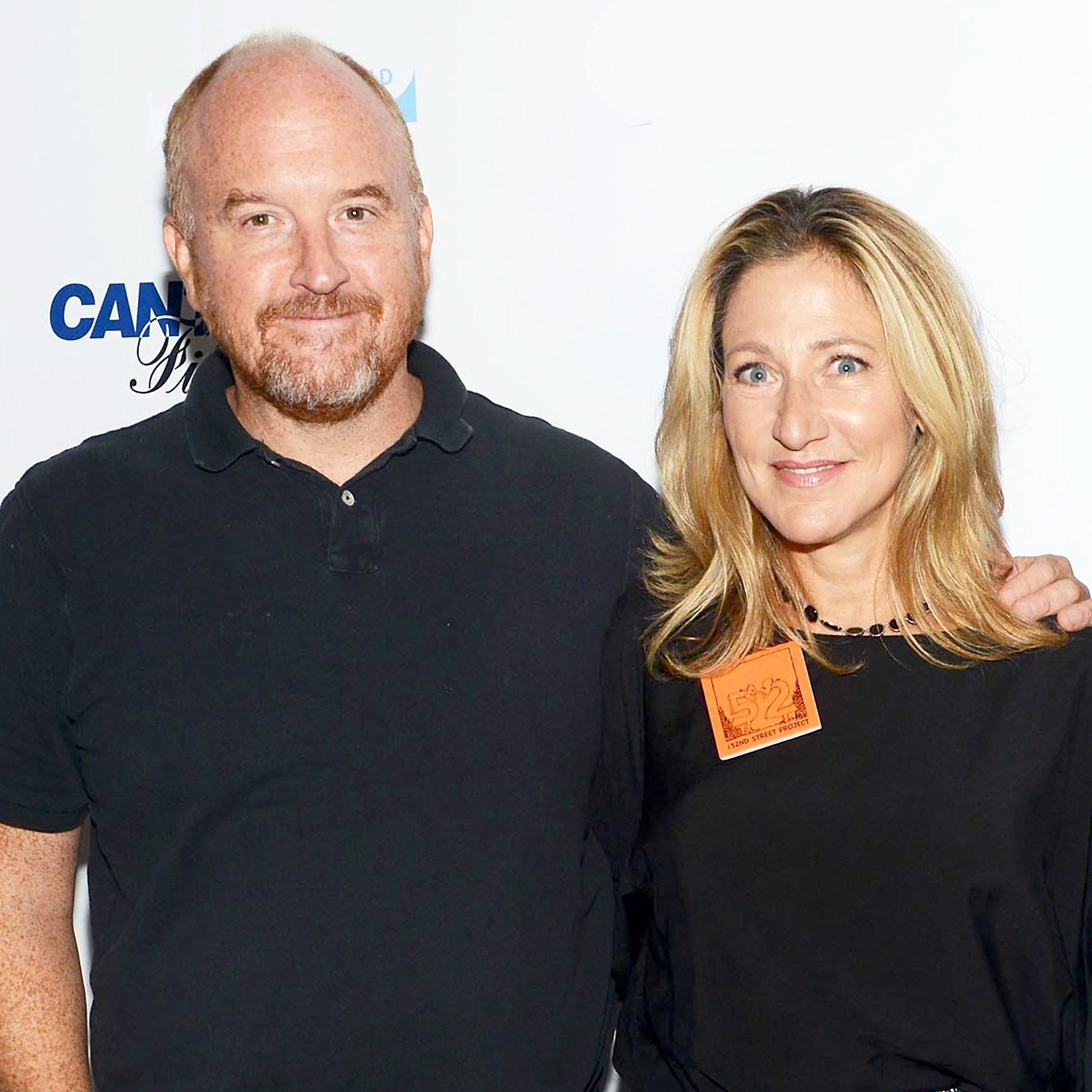 Louis C.K. and Edie Falco attend the annual Charity 2015 Day hosted by Cantor Fitzgerald and BGC in New York City.
