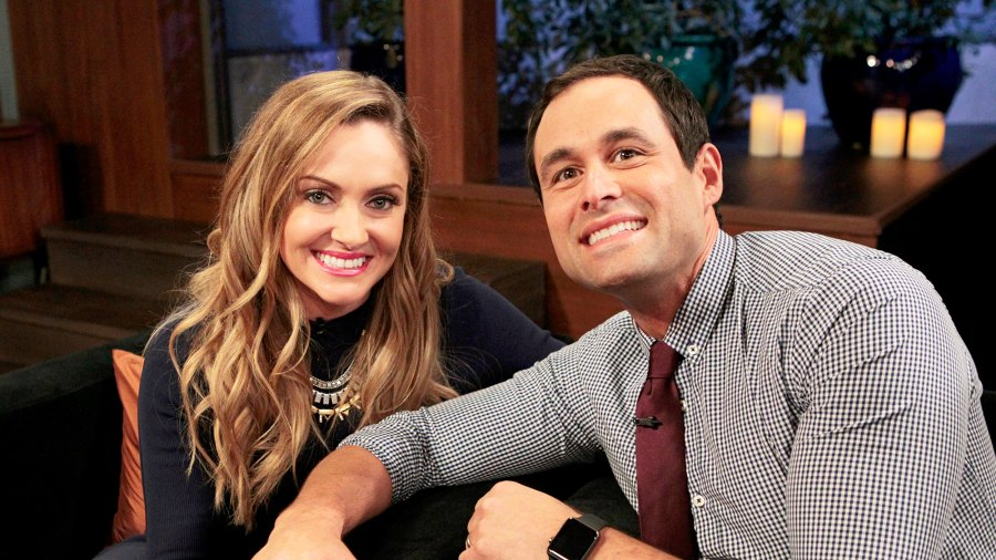Molly Mesnick and Jason Mesnick on ABC's after-show 'Bachelor Live'