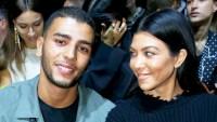 Kourtney Kardashian and Younes Bendjima attend the Haider Ackermann show during Paris Fashion Week Womenswear Spring/Summer 2018 in Paris, France.