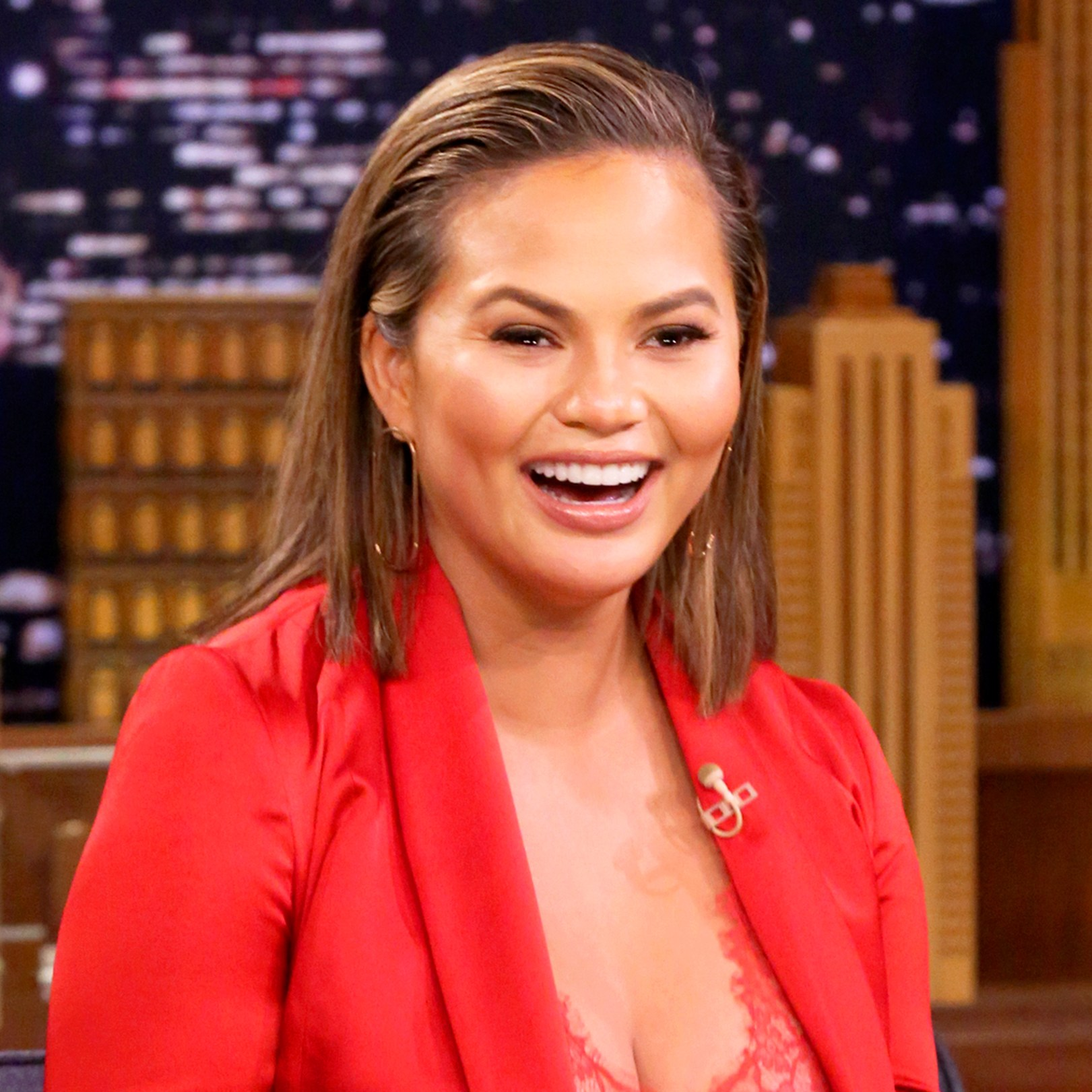 Chrissy Teigen on 'Tonight Show starring Jimmy Fallon'