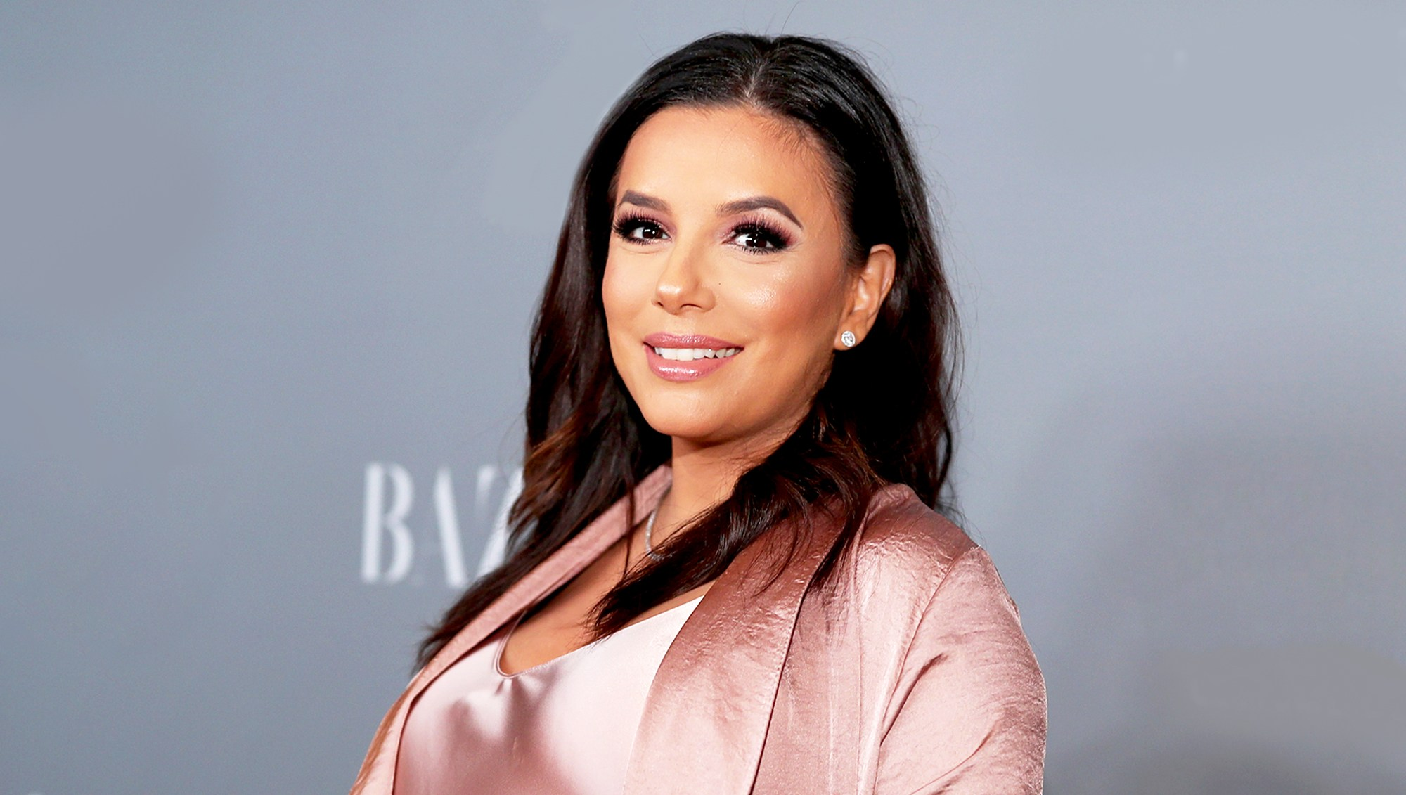 Eva Longoria attends the Costume Designers Guild 2018 Awards at The Beverly Hilton Hotel in Beverly Hills, California.