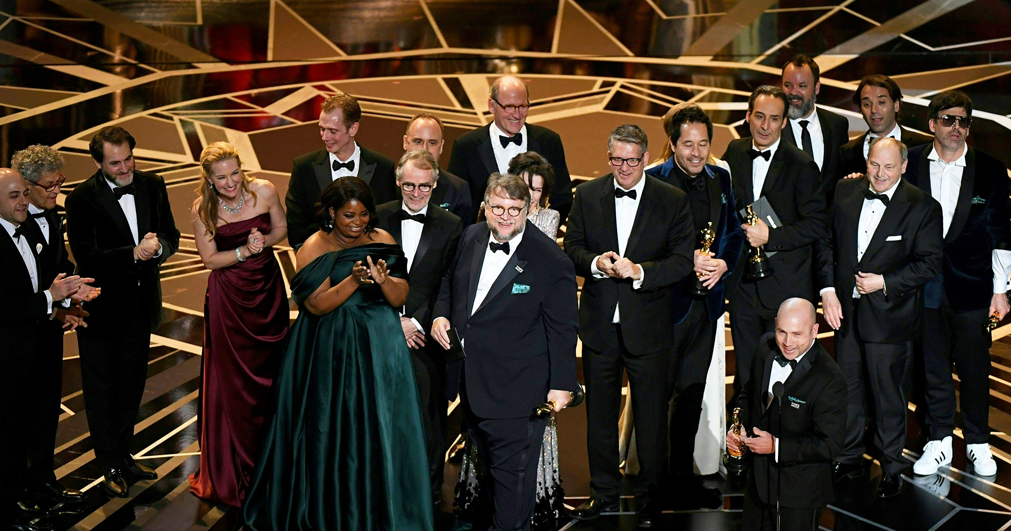 �the shape of water� wins best picture at oscars 2018