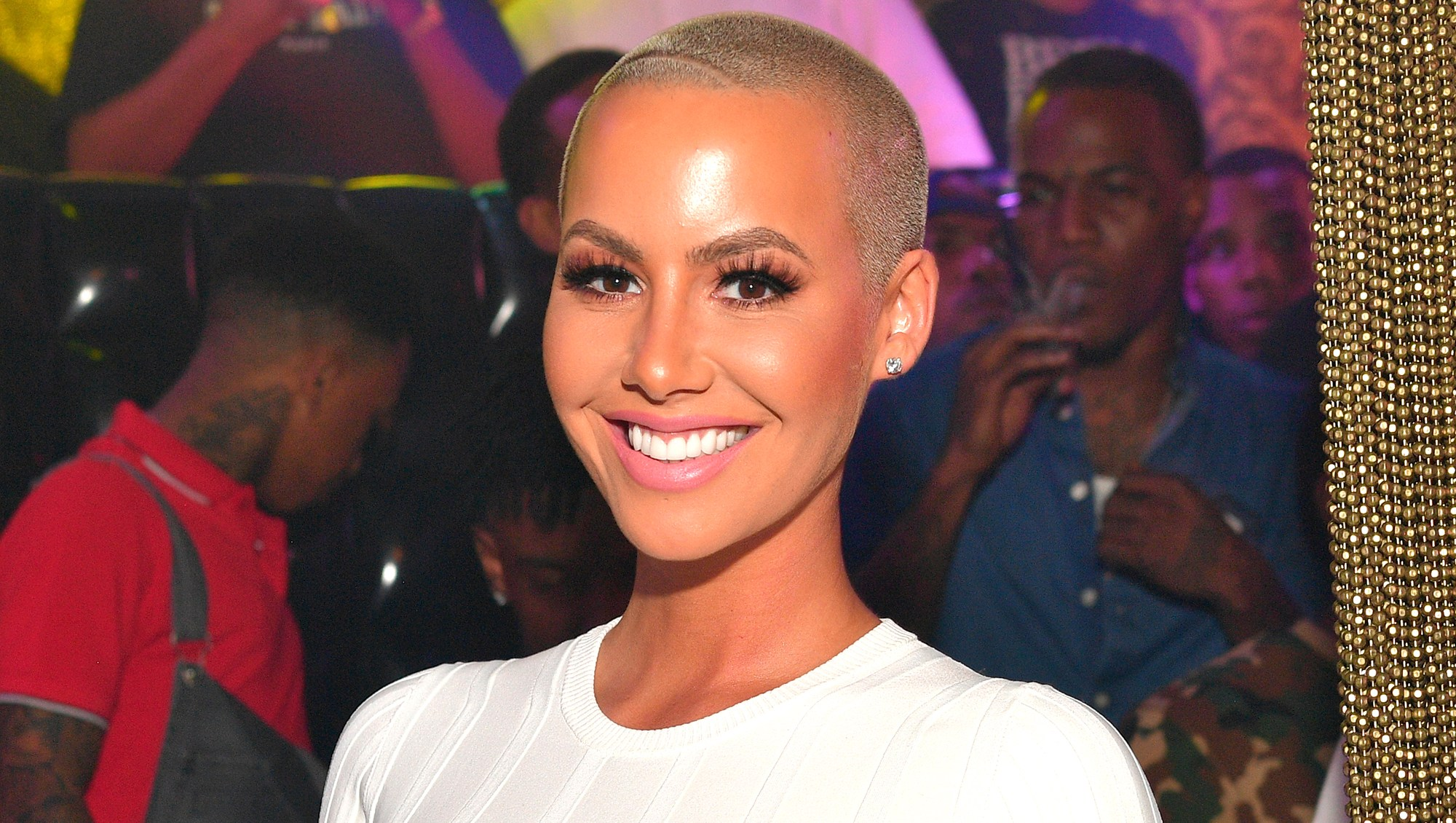 Amber Rose not ready single