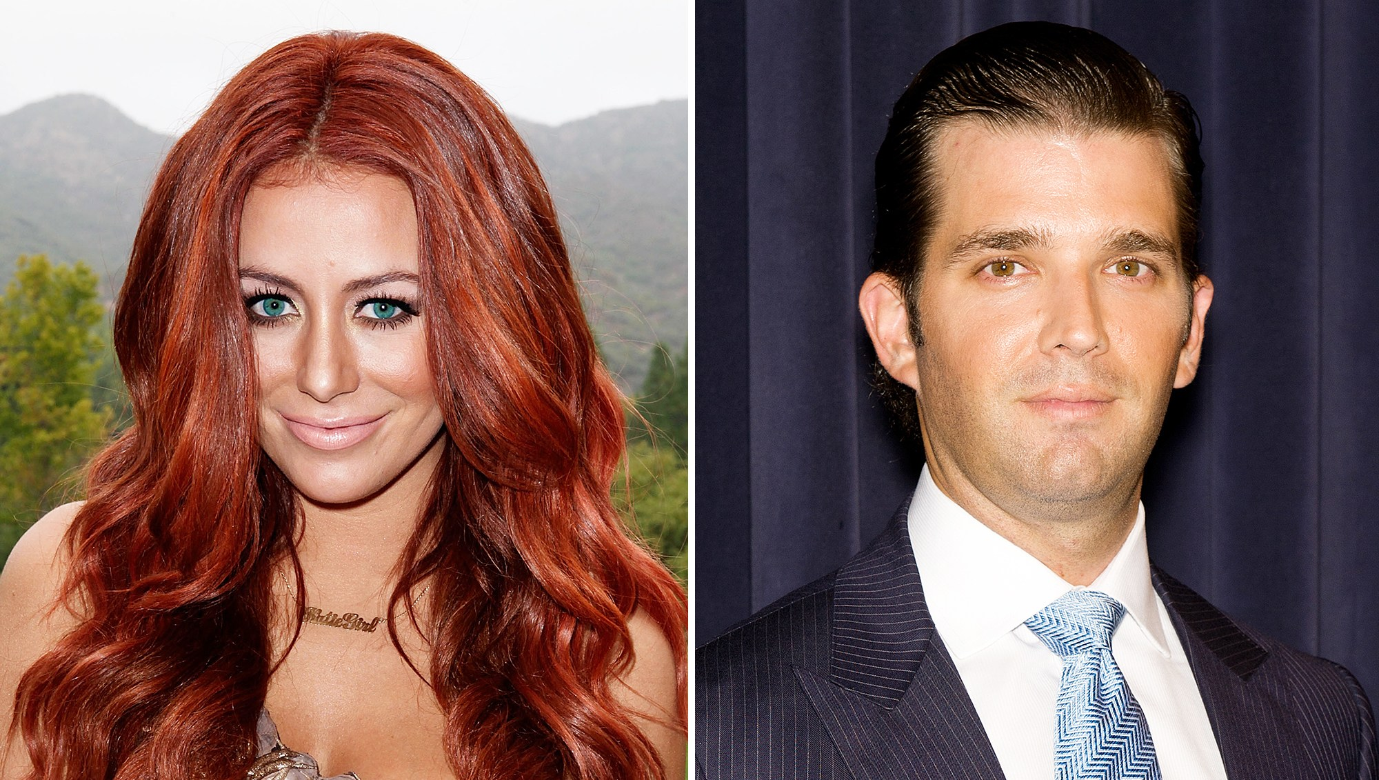 Aubrey O'Day Admits Crush on Donald Trump Jr