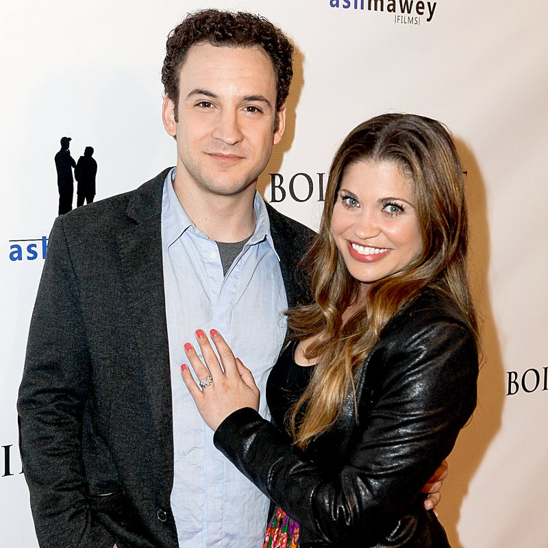 Boy meets worlds ben savage congratulates danielle fishel on boy meets worlds ben savage congratulates danielle fishel on engagement sciox Image collections