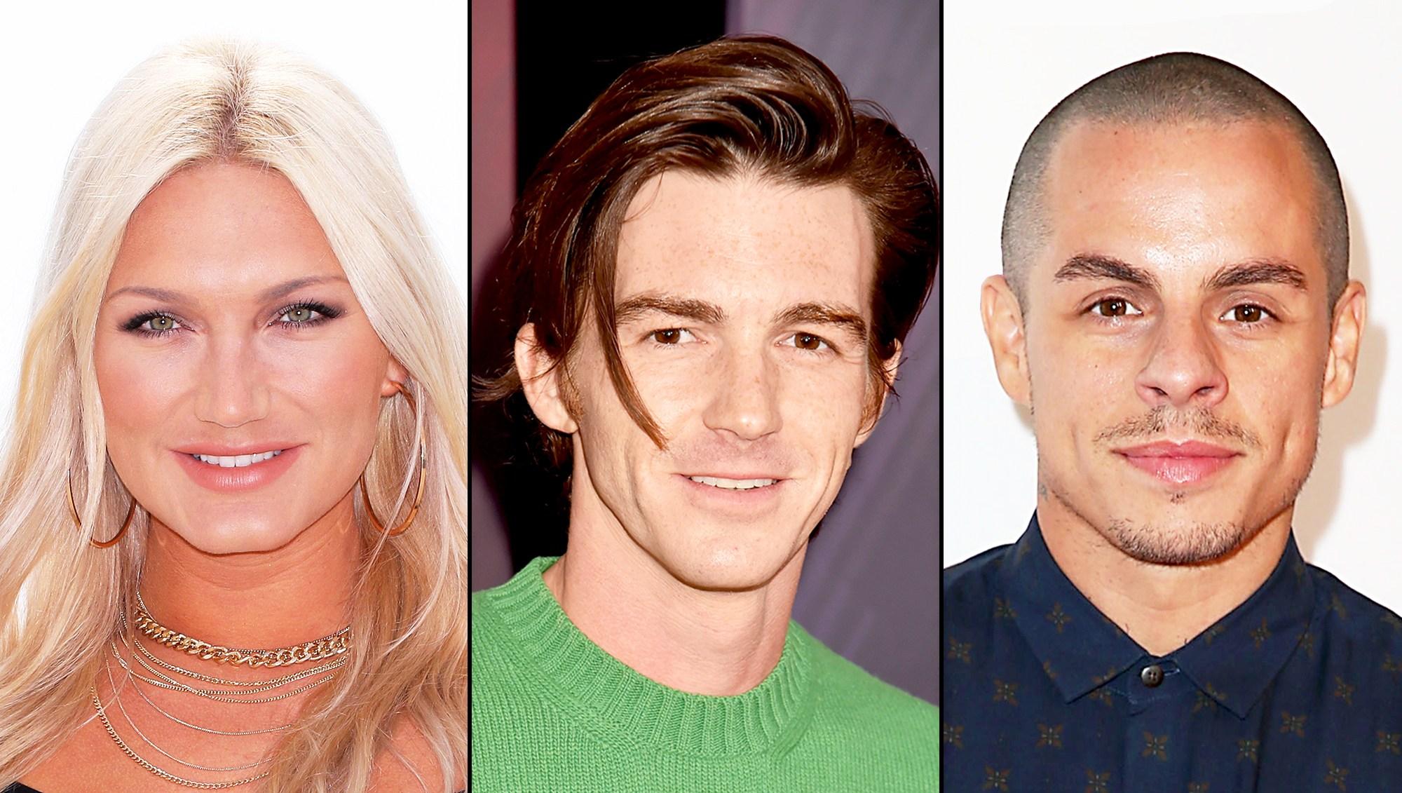 Brooke Hogan, Drake Bell and Casper Smart