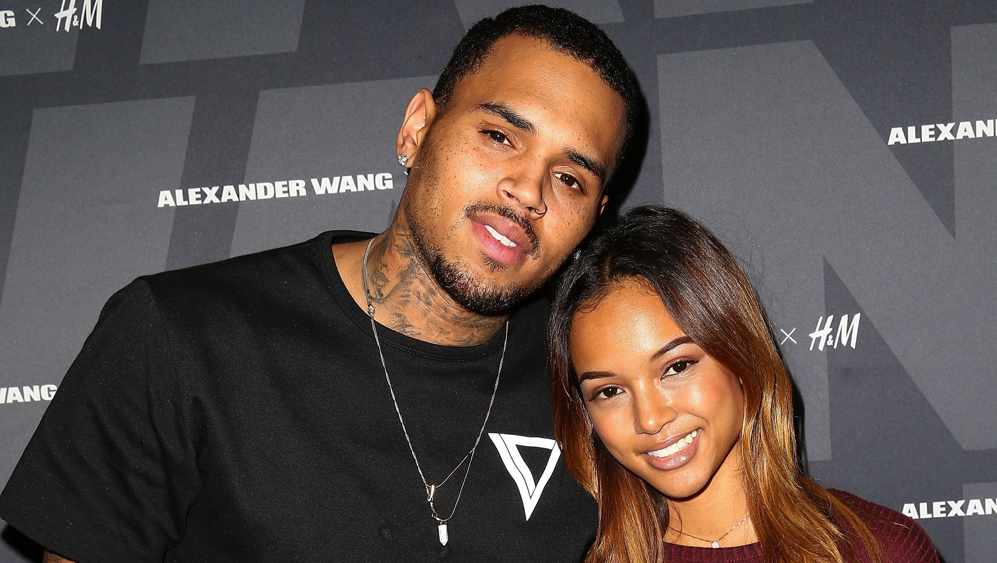 Chris Brown Says Ex Karrueche Tran and New Boyfriend Victor Cruz 'Look Really Good Together'