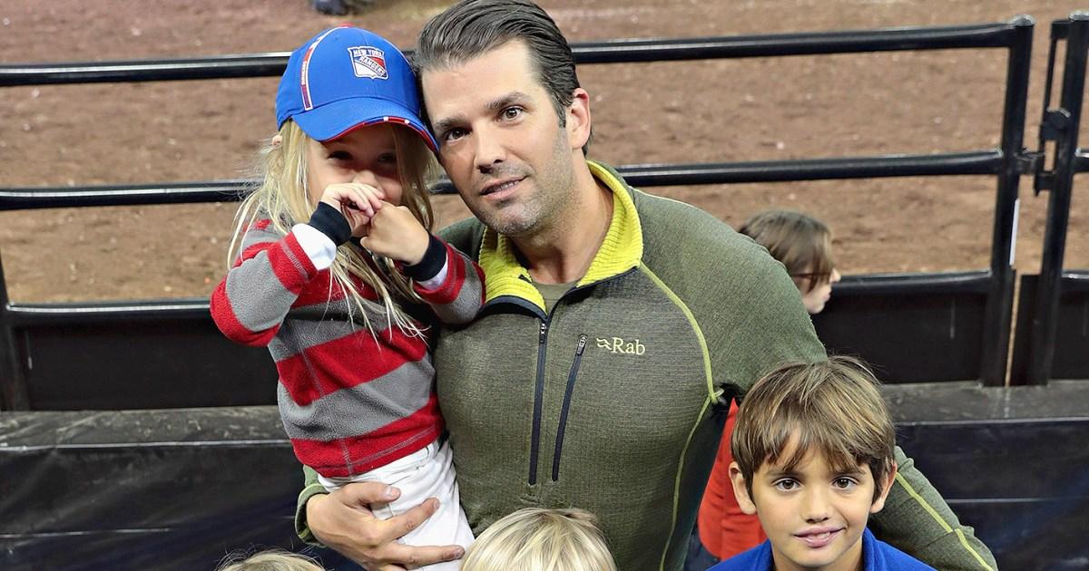 Donald Trump Jr Takes His Kids To Florida Amid Divorce Pics