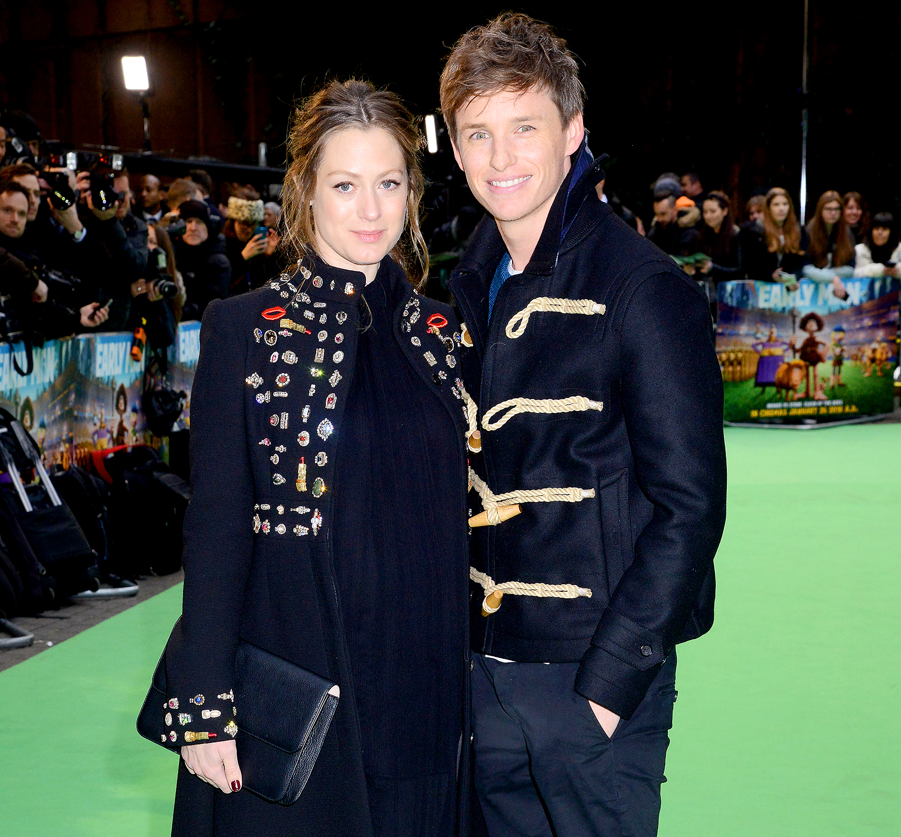 Eddie Redmayne's wife gives birth to their second child