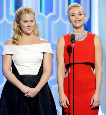 Image result for jennifer lawrence and amy schumer