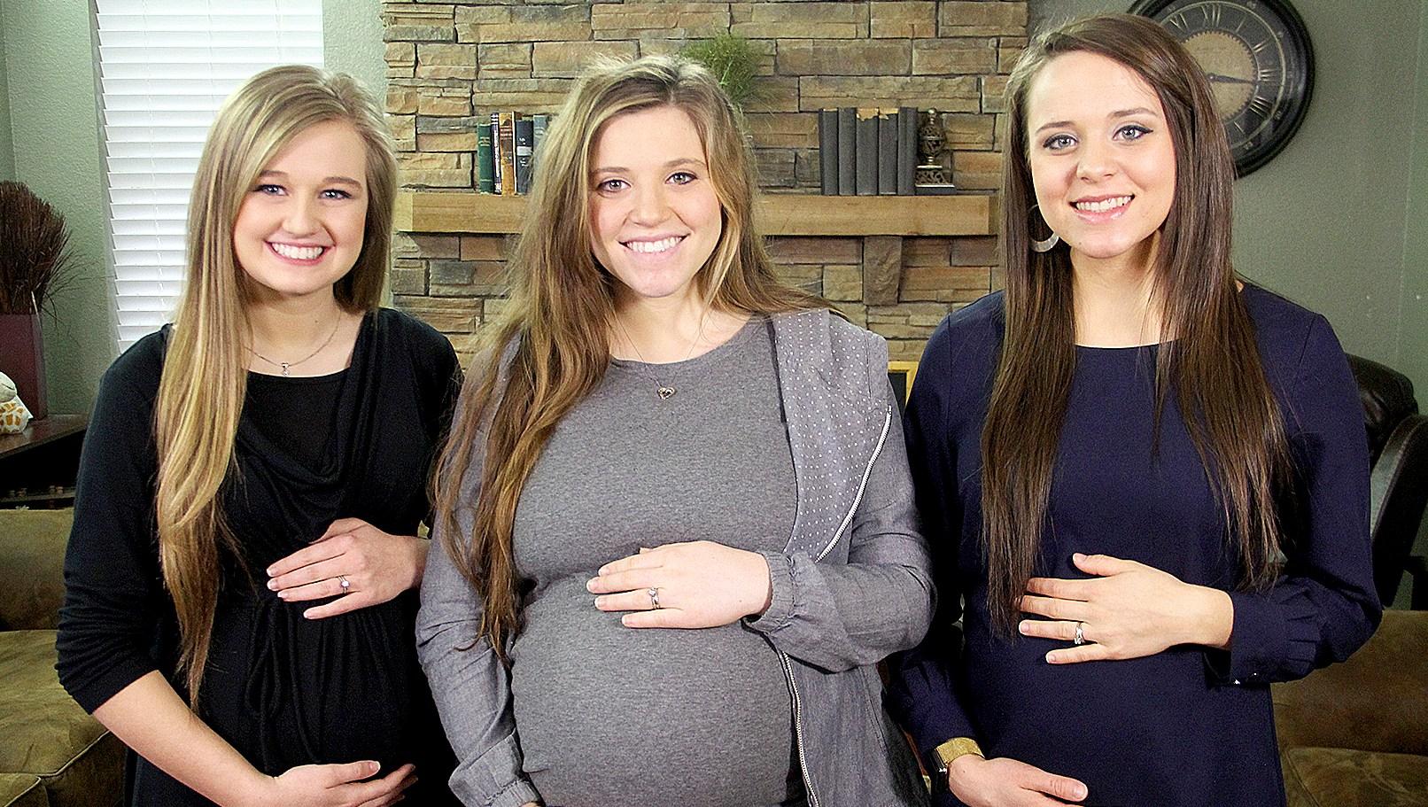 Jinger, Joy-Anna and Kendra Duggar pregnant-duggars