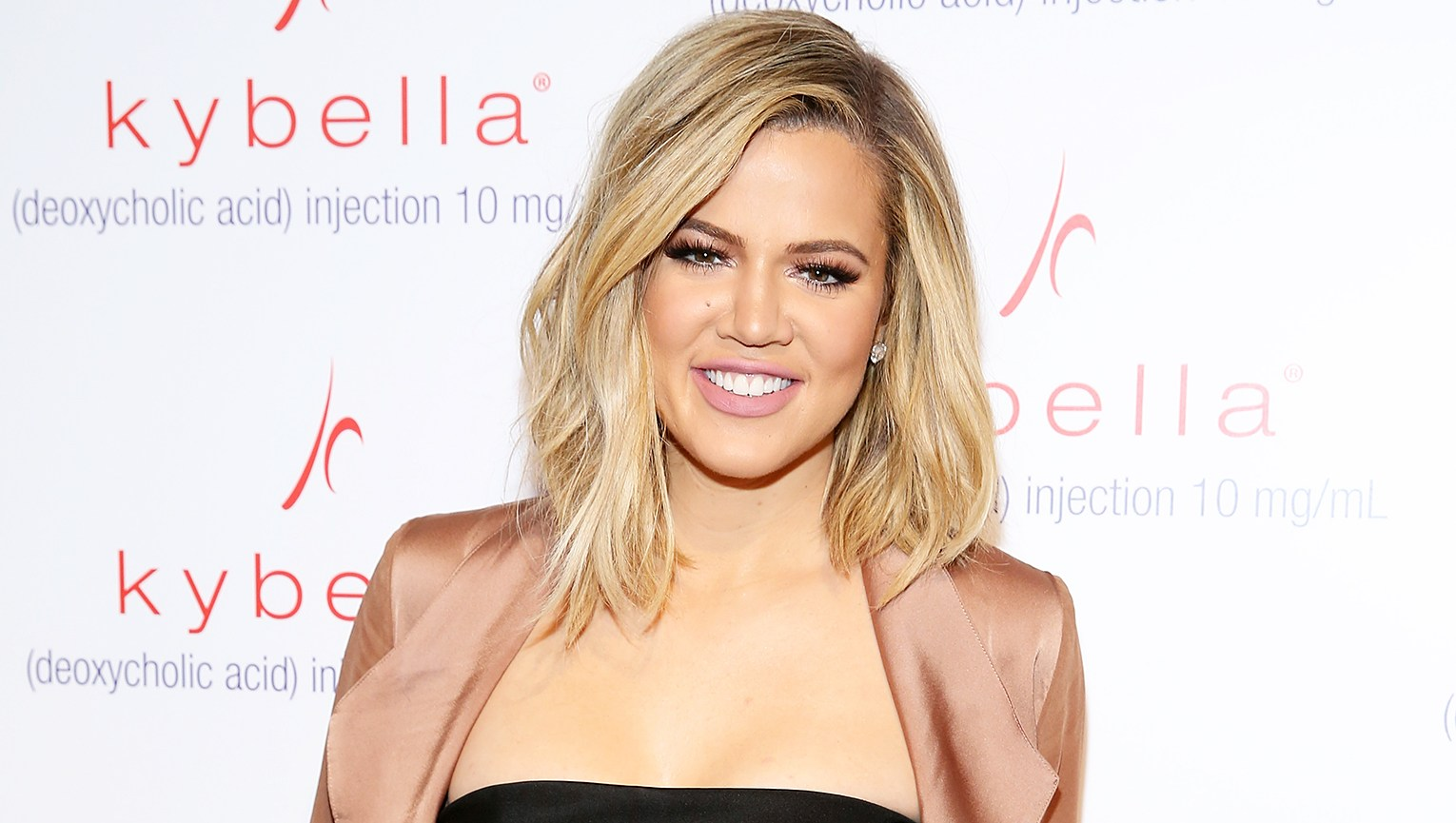 Khloe Kardashian Shows Off Cute Pink Baby Clothes