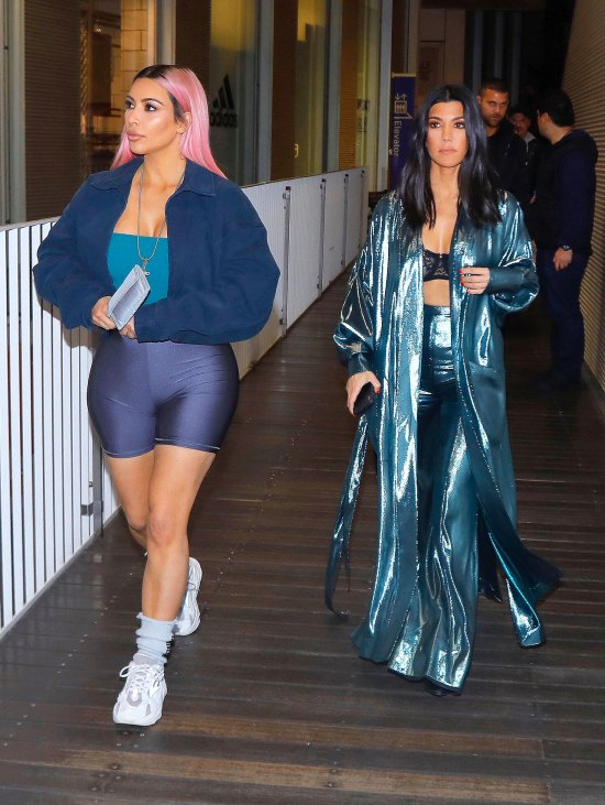 Kim and Kourtney Kardashian Japan