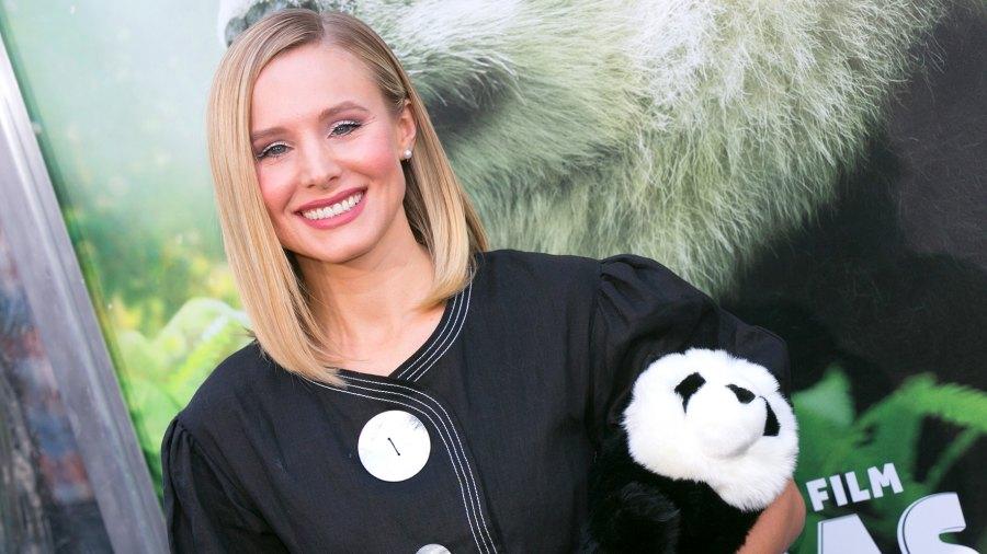 Kristen Bell pandas daughters