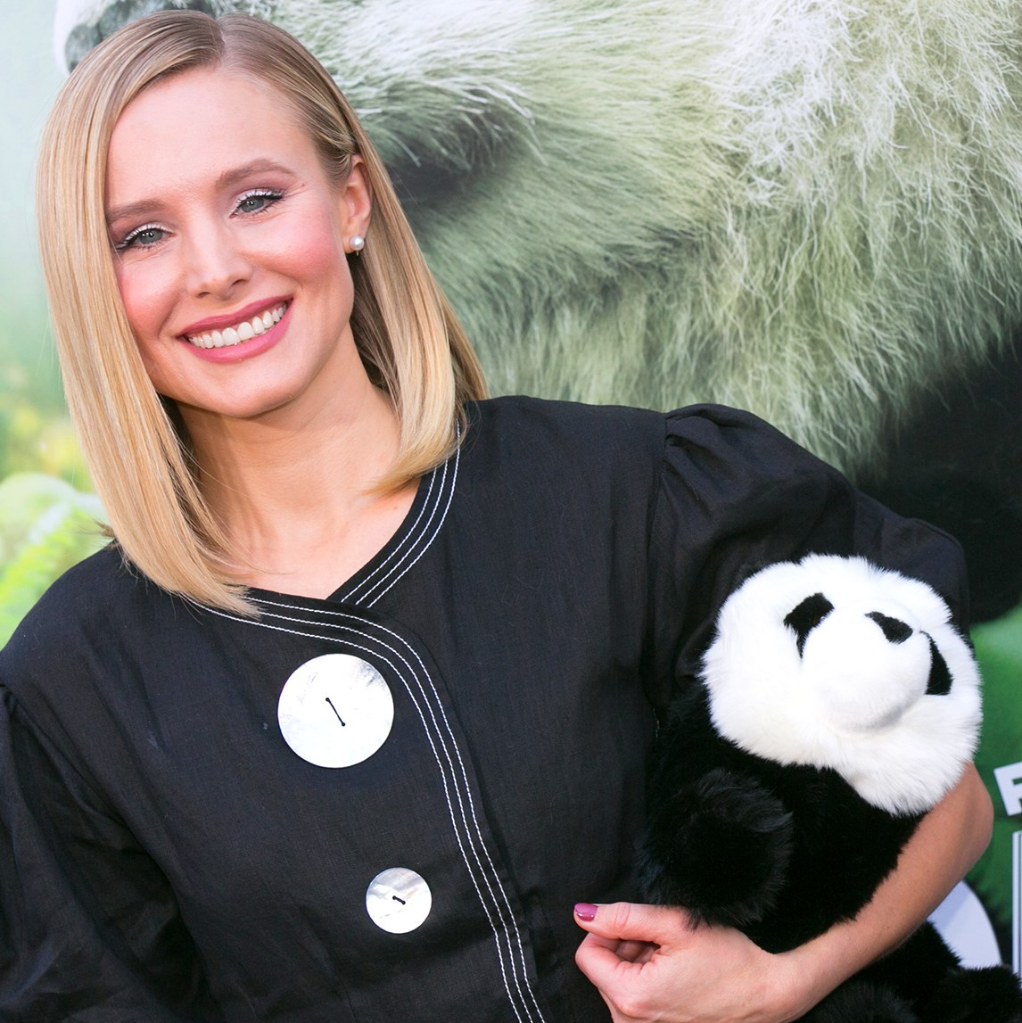 Kristen Bell pandas daughters