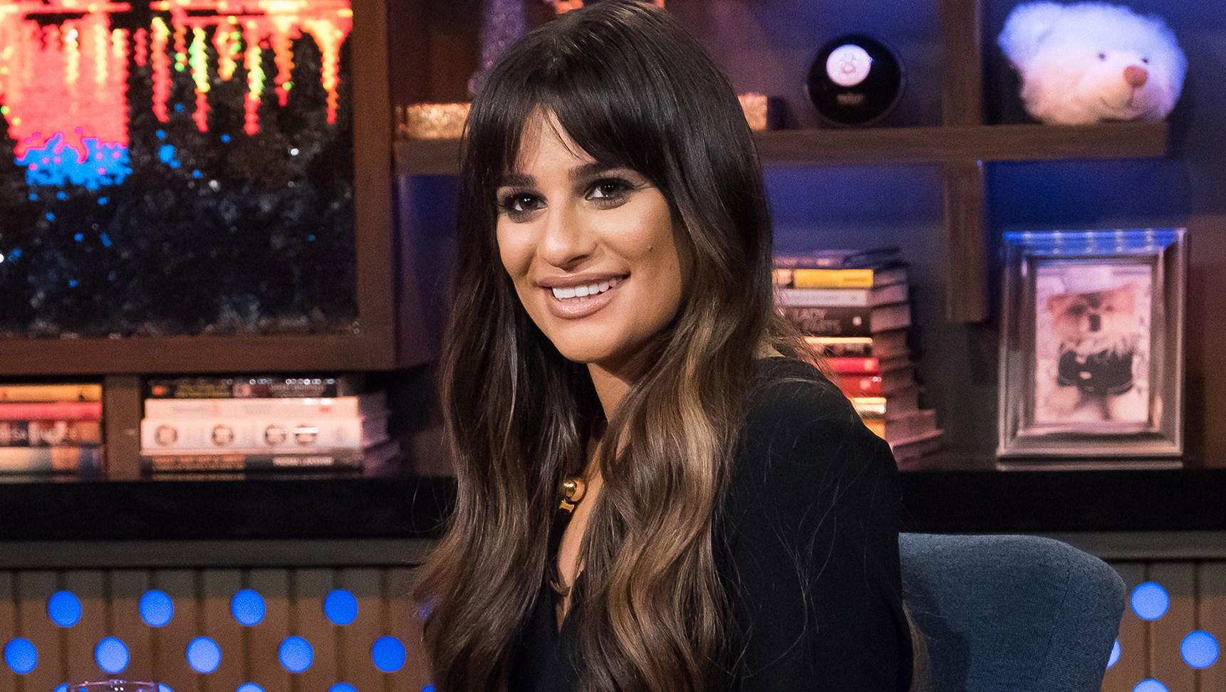 Lea Michele not illiterate
