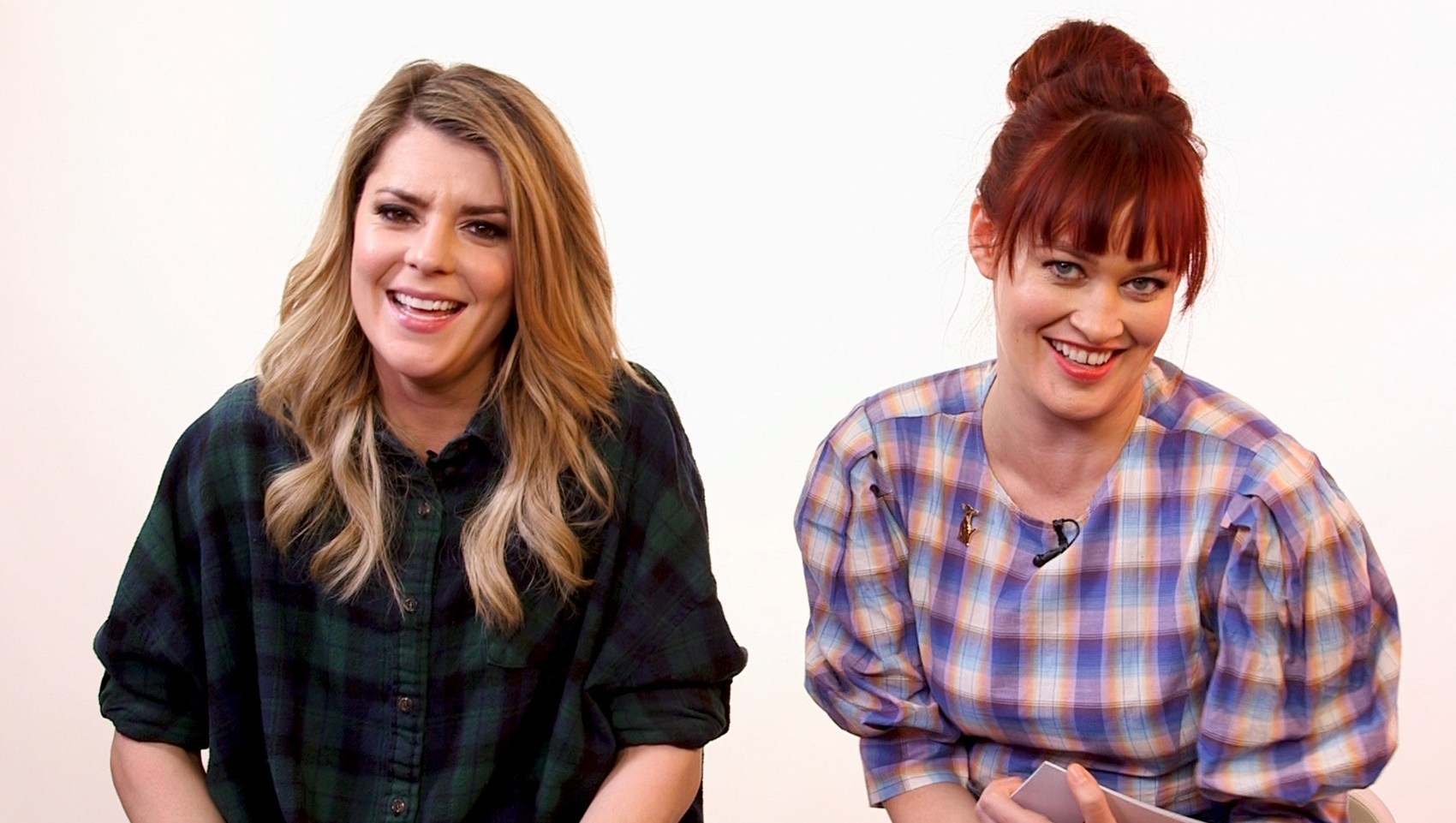 Mamrie Hart and Grace Helbig