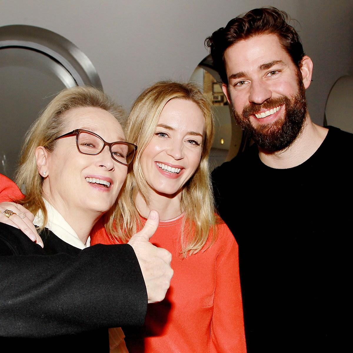 Meryl Streep Emily Blunt John Krasinski Devil Wears Prada Reunion