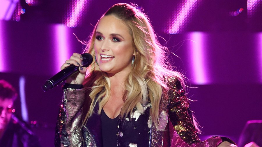 Miranda Lambert performs onstage adam east