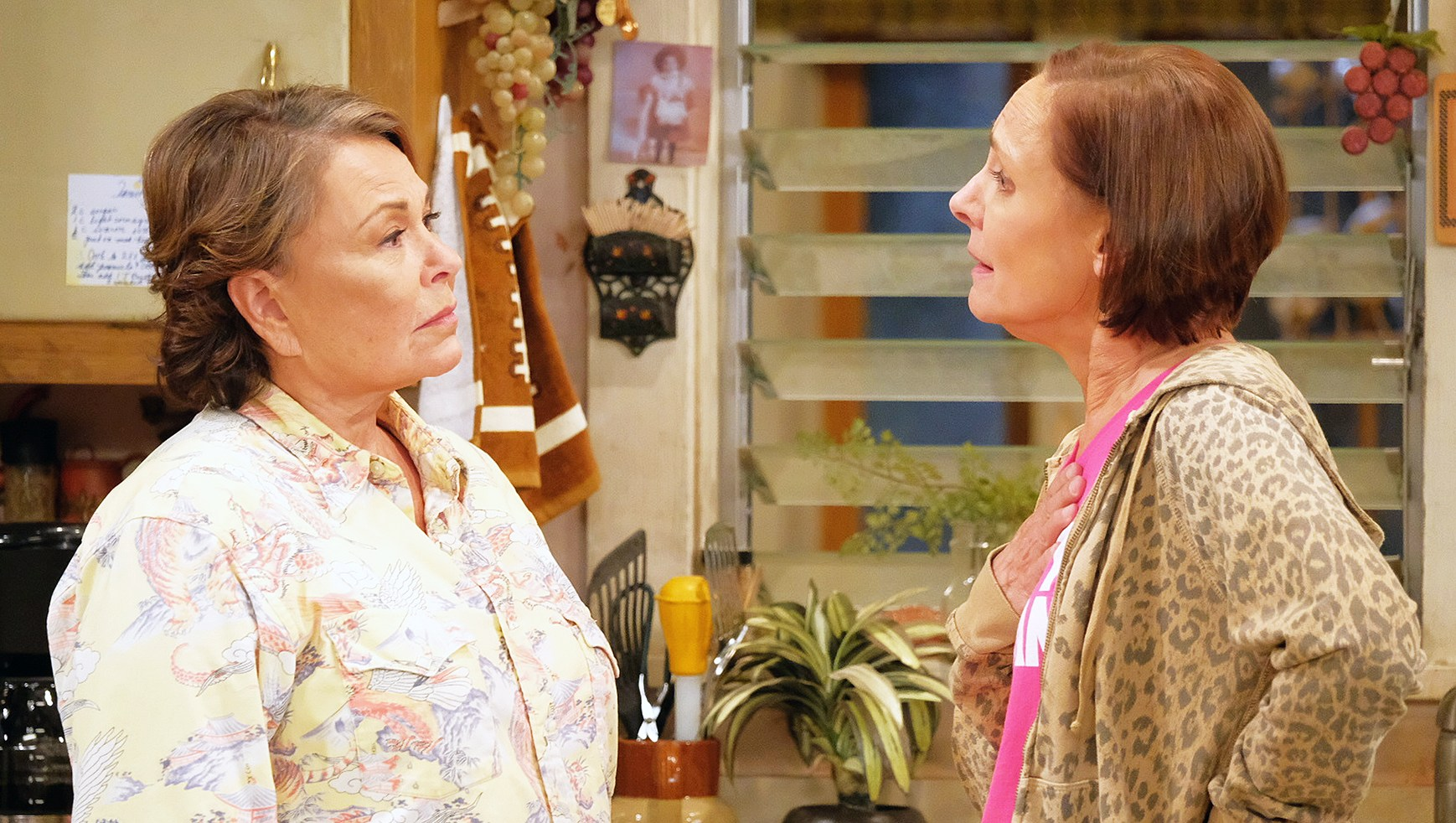 Roseanne and Jackie Team Up Despite Conflicting Political Views