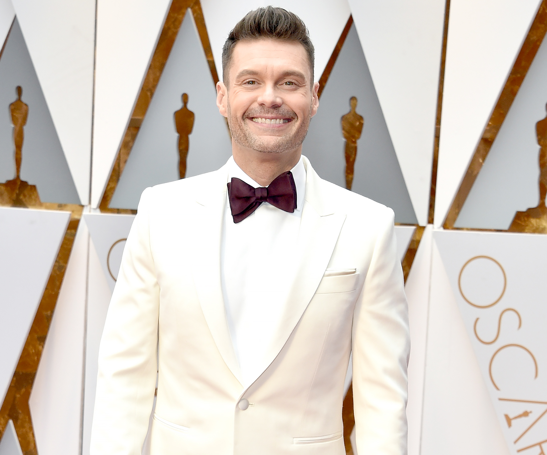 Did Taraji P. Henson drag Ryan Seacrest on the Oscars red carpet?