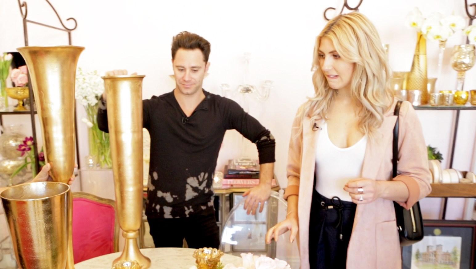 Sasha Farber and Emma Slater