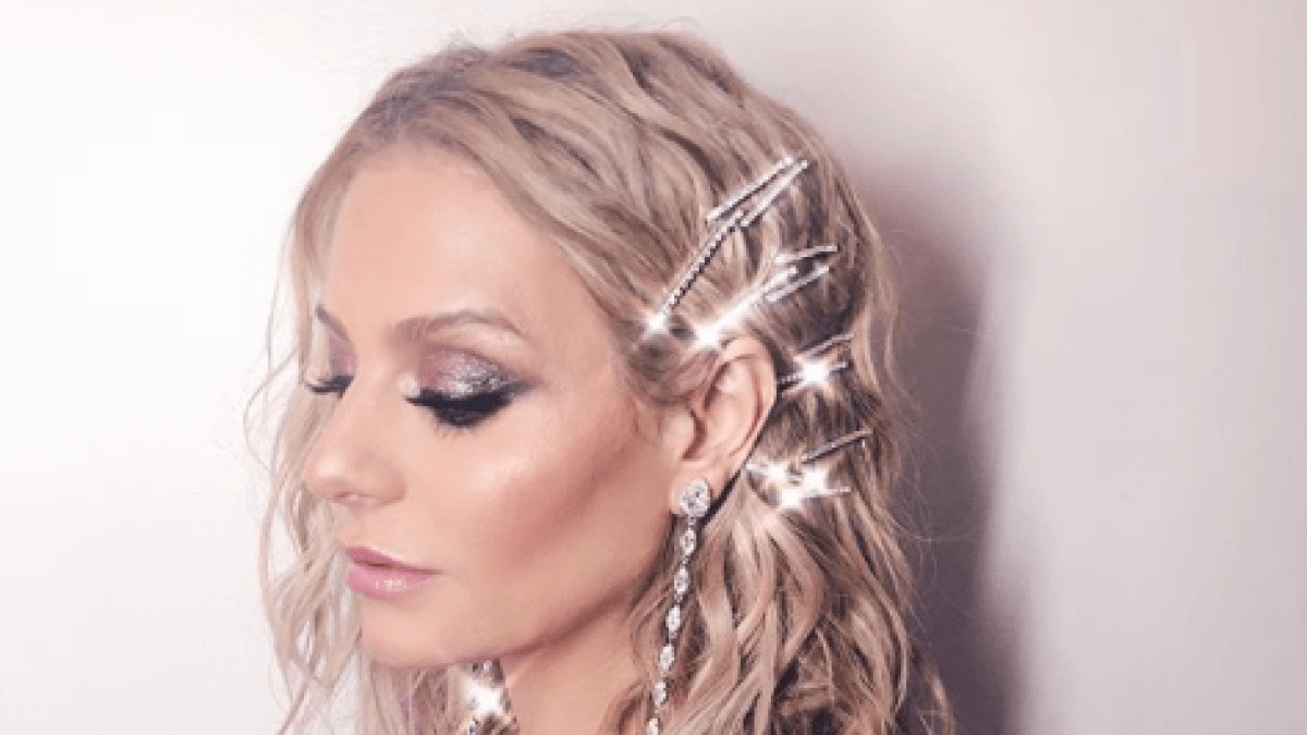 Dorit Kemsley In Bejeweled Bobby Pin Hairstyle For Rhobh Reunion