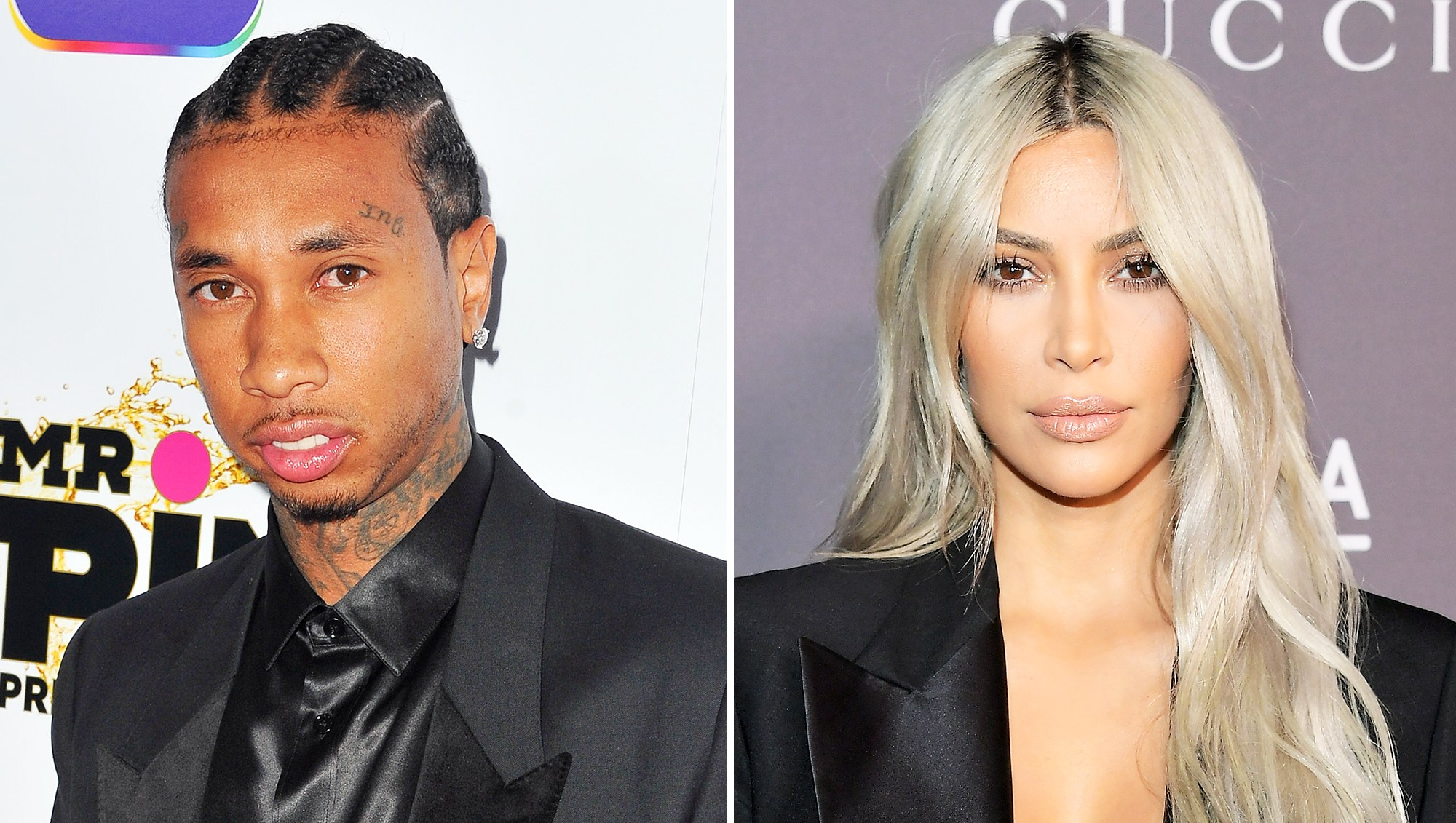 Tyga Corrects a Typo in Kim Kardashian Instagram Caption