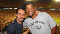 Marc Anthony and Will Smith salsa lessons
