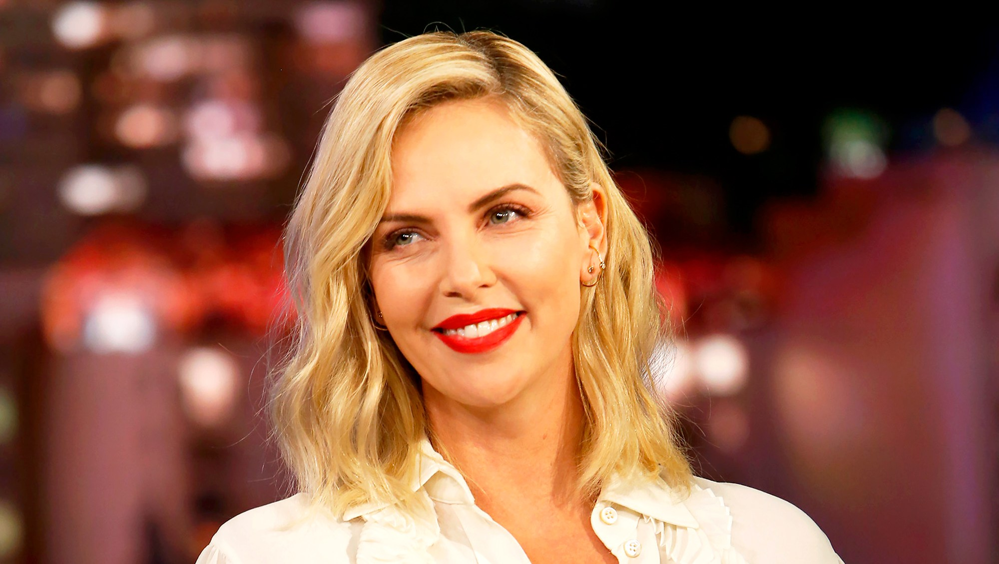Charlize Theron on 'Jimmy Kimmel Live!'
