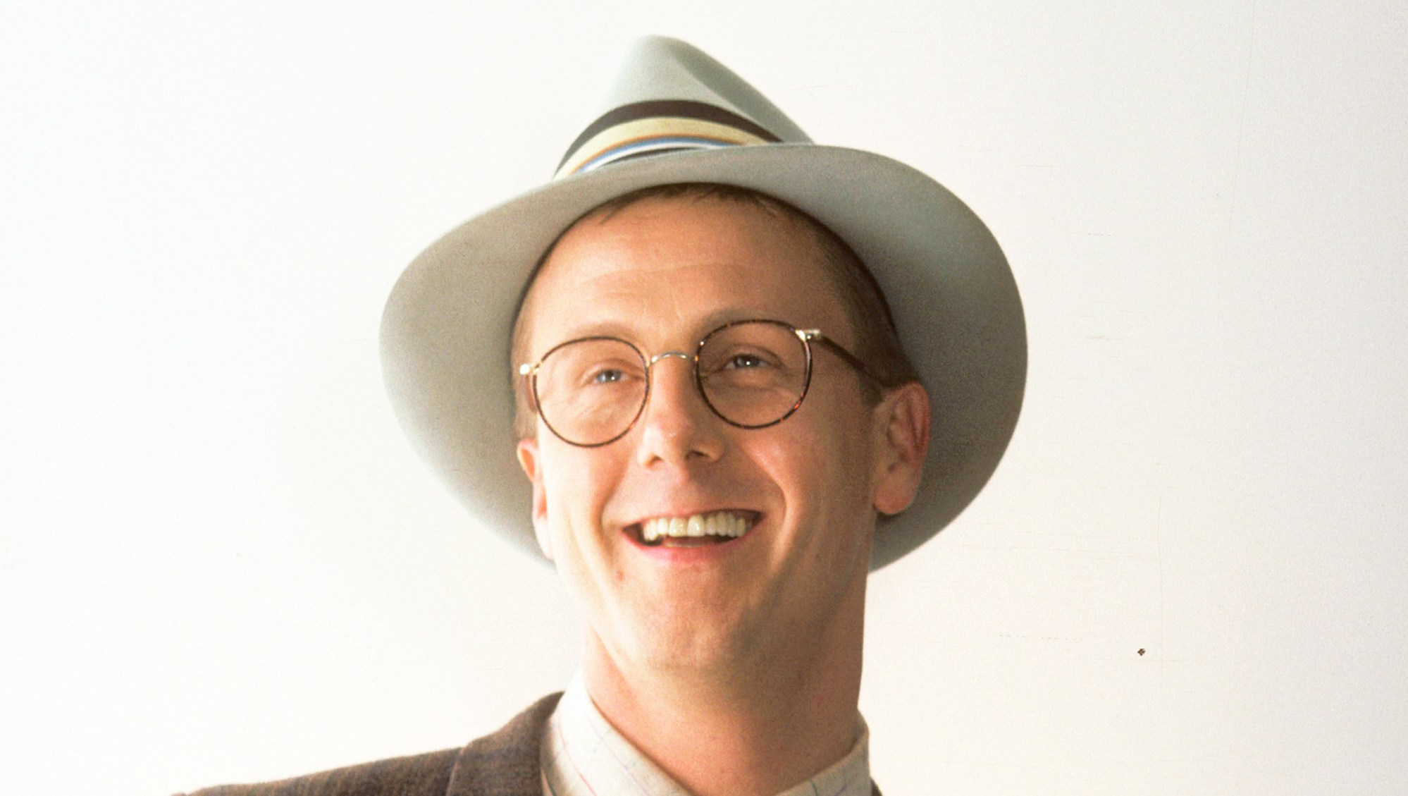 Harry Anderson attends the 1986 Comic Relief Benefit at the Universal Ampitheater in Universal City, California.