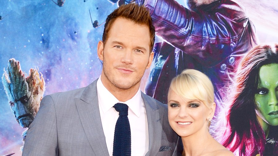 Chris Pratt and Anna Faris attend the premiere of Marvel's 'Guardians of the Galaxy' at the Dolby Theatre in Hollywood on July 21, 2014.