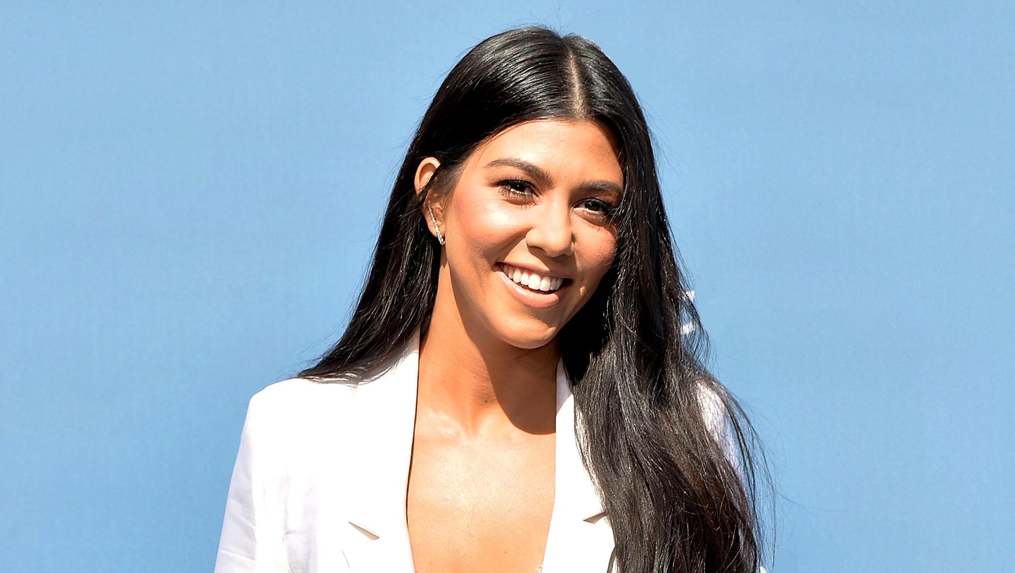 Kourtney Kardashian attends the NBCUniversal 2016 Upfront Presentation in New York City.