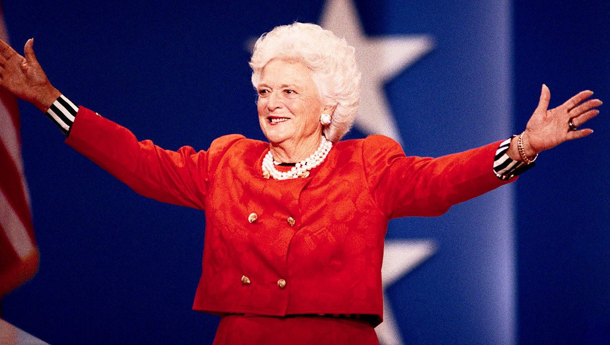 Barbara Bush attends the Republican Party National Convention
