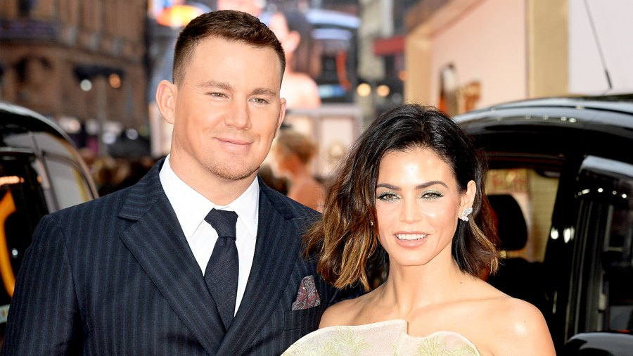 Channing Tatum and Jenna Dewan attend the 'Kingsman: The Golden Circle' World 2017 Premiere held at Odeon Leicester Square in London, England.