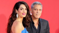 George Clooney and Amal Clooney arrive at the Los Angeles premiere of 'Suburbicon' at Regency Village Theatre on October 22, 2017.