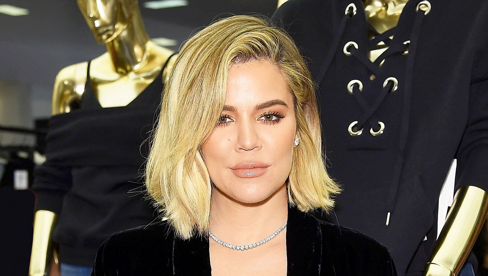 Khloe Kardashian celebrates the launch of Good American at Bloomingdale's on October 28, 2017 in New York City.