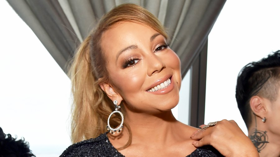 Mariah Carey attends a Roc Nation brunch at One World Observatory in New York City on January 27, 2018.
