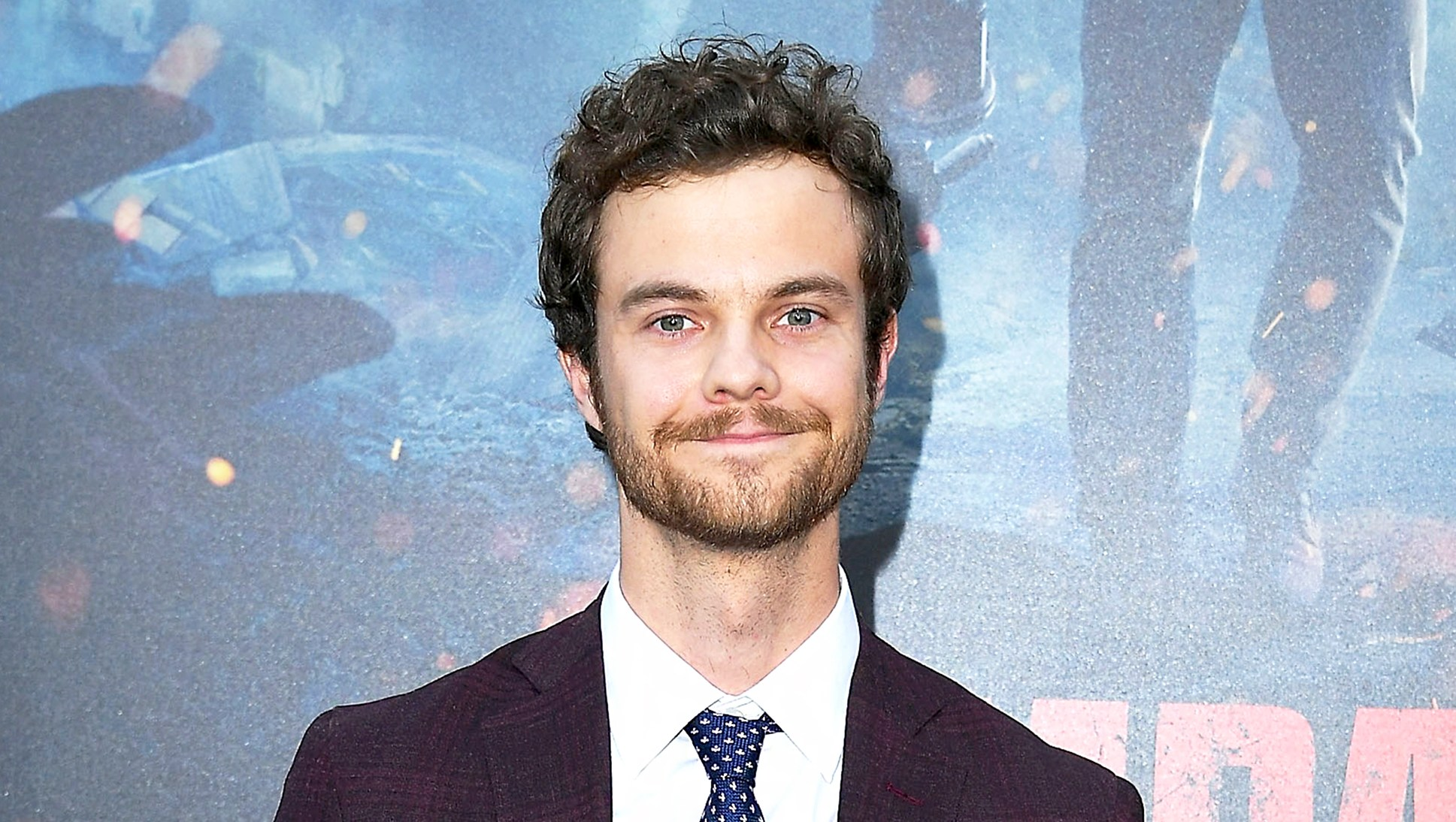 "Jack Quaid arrives at the premiere of Warner Bros. Pictures' ""Rampage"" at Microsoft Theater on April 4, 2018 in Los Angeles, California."