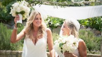 Cat Cora, Nicole Ehrlich, Married, Wedding
