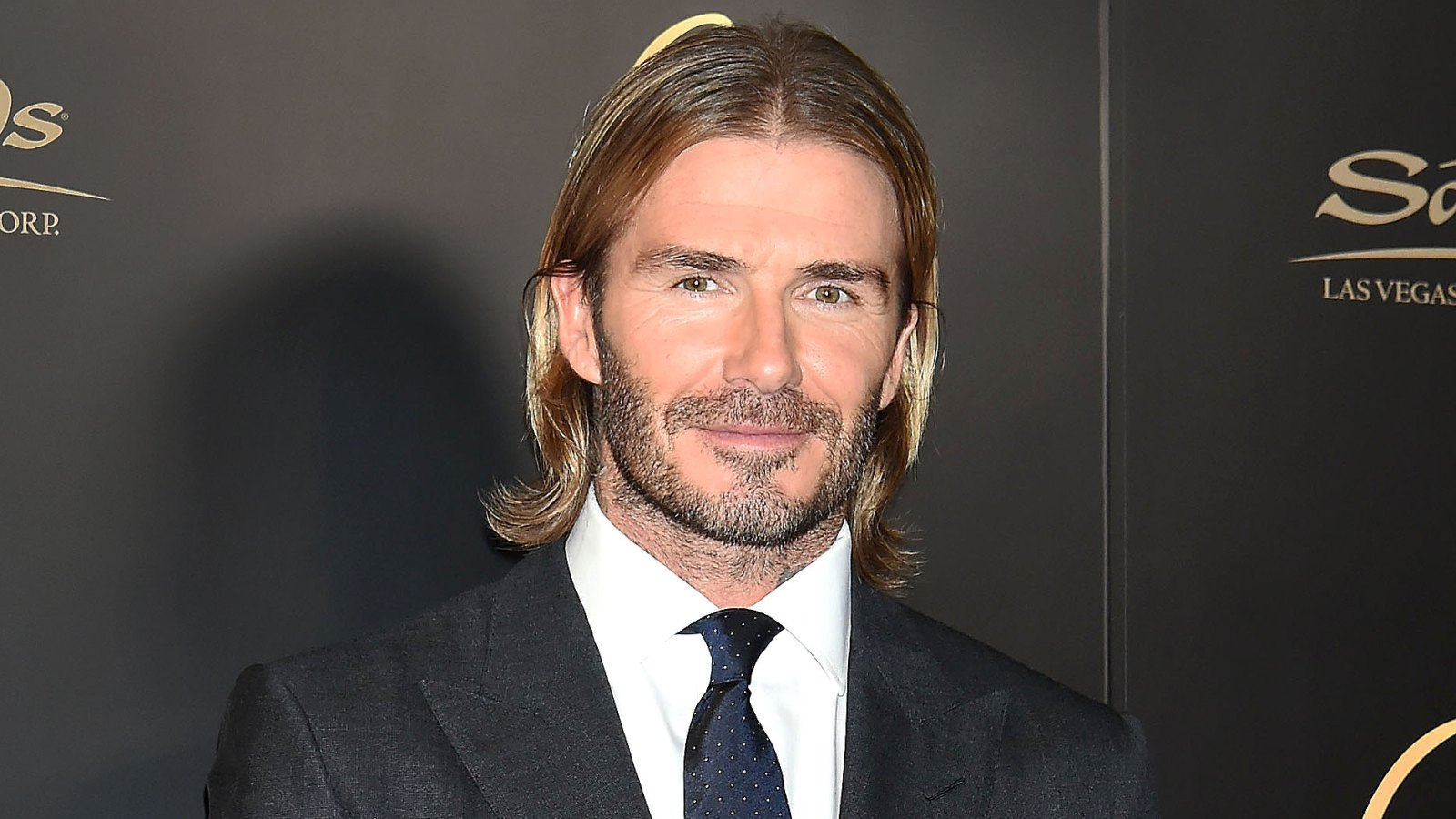 David Beckham Debuts Short Hair In Macau