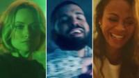 Drake, Nice For What, Music Video, Olivia Wilde, Zoe Saldana