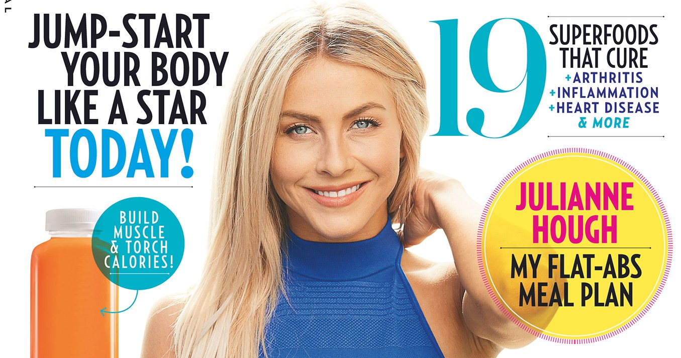 Inside 'Foods That Heal' Special Issue: Julianne Hough and More Stars' Fitness Secrets Revealed