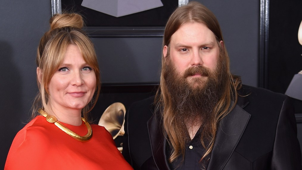 Chris Stapleton and wife Morgane