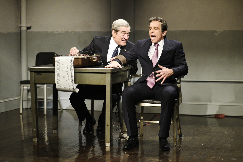 Robert De Niro's Robert Mueller Grills Ben Stiller's Michael Cohen
