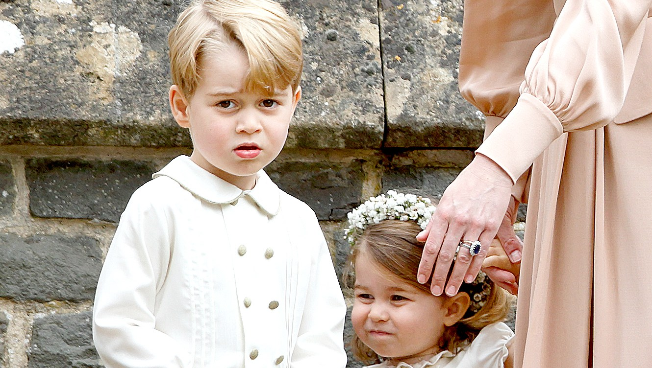 Prince-George-and-Princess-Charlotte-at-their-aunt-Pippa-Middleton's-2017-wedding