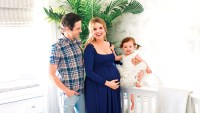 Ali Fedotowsky, Kevin Manno and Molly Nursery