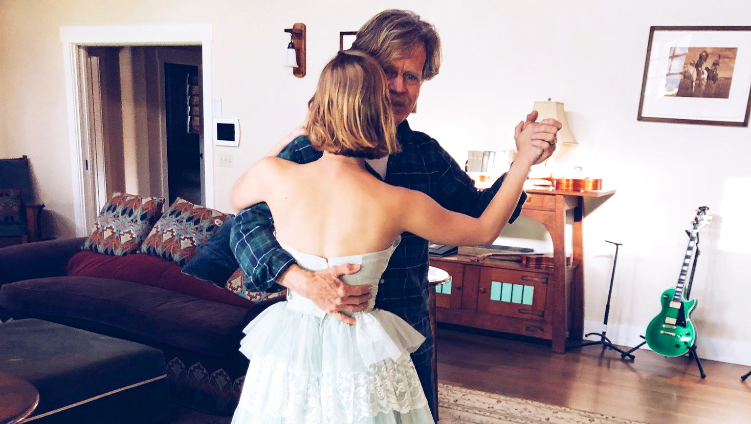 William H. Macy Daughter Prom Twitter