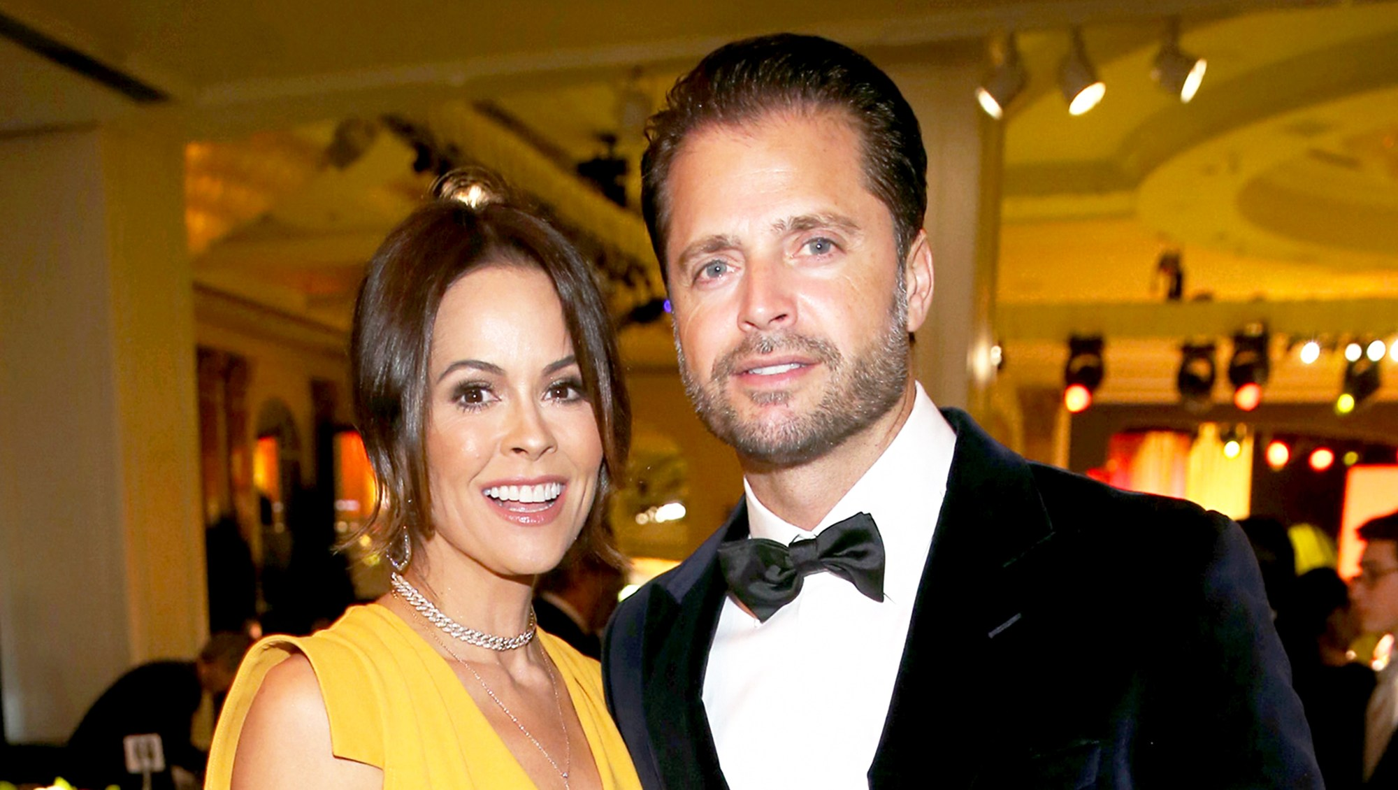 Brooke Burke-Charvet and David Charvet attend the Sixth Biennial UNICEF 2016 Ball at Regent Beverly Wilshire Hotel in Beverly Hills, California.